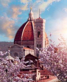☆Welcome spring! ~ Florence , Tuscany, Italy @dorpell |(@living_europe)