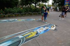 3D Street Art by Leon Keer - At Legoland
