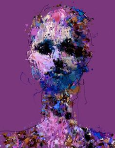 Artist: Sergio Albiac: The Illusion of Reality Ongoing generative and procedural series of portraits.