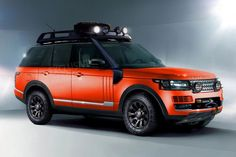 Range Rover off-road equipped but not lifted