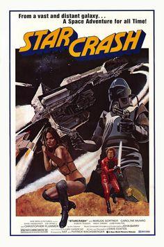 Starcrash (1978) Sci-fi ------An Italian Star Wars rip-off with David Hasselhoff