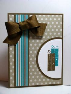 Bday Whimsy w/Patterns using Stampin Up Birthday Whimsy