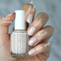 Essie Desert Mirage 2018 Collection : Swatches, Re Uv Gel Nagellack, Nagellack Trends, Manicure, Diy Nails, Essie Nail Polish Colors, Gel Polish, Bright Red Nails, Spring Nail Colors, Neutral Nails