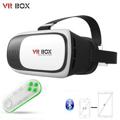 Find More 3D Glasses/ Virtual Reality Glasses Information about VR BOX VR 2 II 3D VR Box Glasses Upgraded Version Virtual Reality 3D Video Headset for Smart Phone + Mini Bluetooth 3.0 Gamepad,High Quality headset adjust,China headset video Suppliers, Cheap headset kenwood from Guangzhou Etoplink Co., Ltd on Aliexpress.com