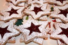 Inspired Ginger, yummy yummy cookie, Linzar Stars.