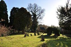 map of little stukeley england   LITTLE STUKELEY. CHURCH : ST MARTIN