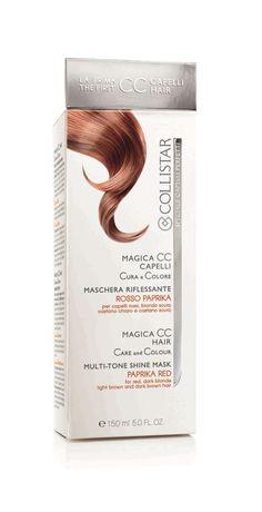 Magica CC Capelli Rosso Paprika #Collistar #MagicaCC #capelli #colore #nuance #tinta #color #rosso #red #paprika