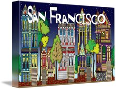 """""""San Francisco"""" by Paco Dozier, Wilton Manors, Florida //  // Imagekind.com -- Buy stunning fine art prints, framed prints and canvas prints directly from independent working artists and photographers."""