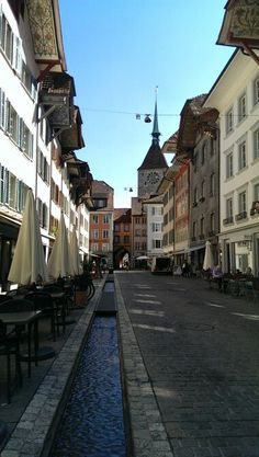 Aarau, Canton Aargau Places Around The World, Around The Worlds, Swiss Travel, Swiss Design, Black Forest, Alps, Continents, Beautiful Landscapes, Countries
