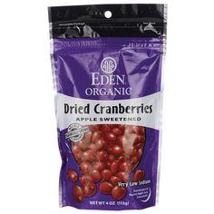 Eden FoodsDried Cranberries Organic