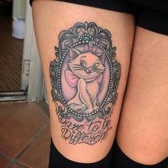 Sooooo ☺️ who wants to ink me ☺️☺️☺️ Dream Tattoos, Future Tattoos, Love Tattoos, New Tattoos, Body Art Tattoos, Disney Tattoos Unique, Unique Tattoos, Aristocats Tattoo, Marie Aristocats