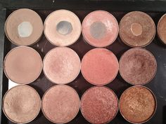 Shades from left to right (all MAC): - First Row - Omega, Shroom, Jest, Woodwinked - Second Row - Kid, Naked Lunch, Expensive Pink, Sable - Third Row - Era, All That Glitters, Mythology, Amber Lights Put On Your Big Girl Lipstick: September 2013