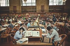 New York Public Library  The iconic Norman Rockwell!  The dream of children learning!!!