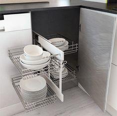 Resultado de imagen para cajones extraibles para cocinas