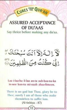 Acceptance of dua Duaa Islam, Allah Islam, Islam Muslim, Islam Quran, Quran Quotes Inspirational, Islamic Love Quotes, Religious Quotes, Learn Quran, Learn Islam