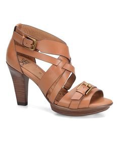 Look what I found on #zulily! Luggage Rae Leather Sandal #zulilyfinds