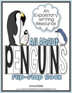 This PENGUINS Flip Flap Book is all you will need to have your students focus on their Expository Writing Skills and they will have FUN in the process!$