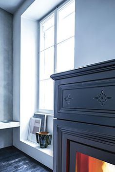 Sergio Leoni   Sissy P/N and Sissy P/I - detail: pellet stove that can heat also the water of radiators