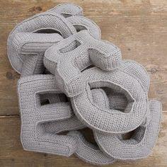 Patron Abecedario - Patrones Crochet
