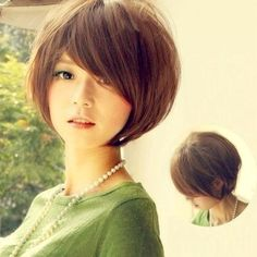 Asian Short Hairstyles Women 2018 18