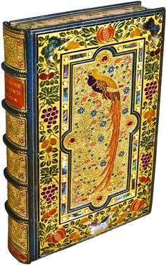 For the love of Books...Paradise Lost, by John Milton, 1667, 20th Century Treasure Binding by Sangorski & Sutcliffe.