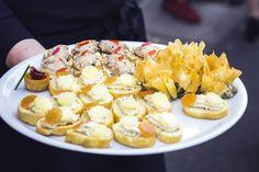 wedding canapés #london #catering