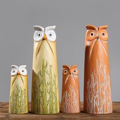1PC Nordic Style Cute Owl furnishing articles Creative Gifts Ceramic office living room Animal Ornaments-in Figurines & Miniatures from Home & Garden on Aliexpress.com | Alibaba Group