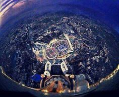 The Centre of the Earth!! Masha'Allah