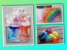 Stimulera barnens nyfikenhet, lärande och skapande med dessa åtta färgglada experiment. Du kommer till vart och ett av experimenten genom att klicka på länkarna och bilderna. Varje experiment har b...