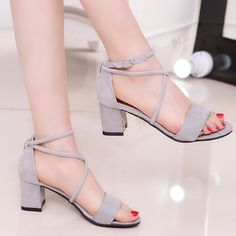 Like and Share if you want this  Classy Heeled Suede Sandals for Women     Tag a friend who would love this!     FREE Shipping Worldwide | Brunei's largest e-commerce site.    Buy one here---> https://mybruneistore.com/women-sandals-2017-summer-new-sandals-fashion-high-heeled-suede-women-shoes-normal-size-35-39-zapatos-mujer-chaussure-femme/