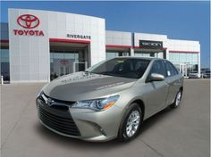 2015 Toyota Camry at Rivergate Toyota http://www.rivergatetoyota.com/index.htm  Outstanding design defines the 2015 Toyota Camry!   It offers great fuel economy and a broad set of features! Toyota prioritized fit and finish as evidenced by: 1-touch window functionality, tilt and telescoping steering wheel, and cruise control. Under the hood you'll find a 4 cylinder engine with more than 170 horsepower, and for added security, dynamic Stability Control supplements the drivetrain.