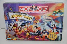 Monopoly Looney Tunes Limited Collectors Edition Complete 1999 #ParkerBrothers