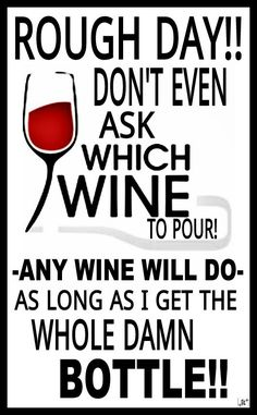 Any #wine will do!