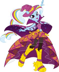 Rainbow Rocks Trixie Vector by icantunloveyou on deviantART