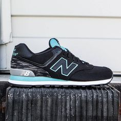 men's new balance 574 summer waves casual shoes