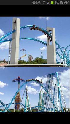 Gatekeeper at Cedar Point-I highly recomend this ride!