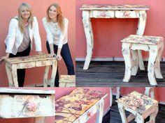 Reciclar Muebles de Pino Vintage - Sublimacion - Patinas -