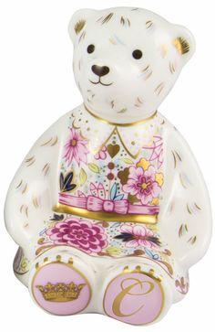 Royal Crown Derby quotCatherine Duchess Teddy Paperweightquot