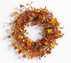 Image result for pottery barn faux bittersweet wreath