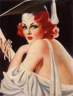 50 illustrations de pin-ups Art Deco par Enoch Bolles - Dessein de dessin Comics Vintage, Vintage Posters, Retro Vintage, Retro Posters, Retro Art, Divas, Art Nouveau, Vargas Girls, Illustrators