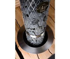 IKI Kiuas-Sähkökiuas Pilari-IKI 6kW (5-9m³), erillinen ohjauskeskus Electric Sauna Heater, Saunas, Coffee Maker, Hot Tubs, Attic, Spa, Electric, Coffee Maker Machine, Loft Room