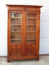 French Antique Bookcase Antique Display Cabinet Antique Furniture