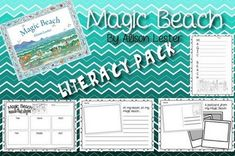 Magic Beach by Alison Lester Rhyming Activities, Beach Activities, Writing Activities, Teaching Writing, Teaching Ideas, Alison Lester, Author Studies, Card Tricks, Class Decoration