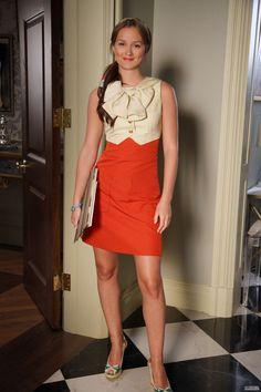 Get Blair Waldorf's summer style! #summer #style