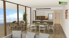 Diseño de interiores de cocina moderna  Modern Kitchen Interior Design Rendering Company. Ofrecemos servicios como diseño de interiores en 3D, diseño exterior en 3D, visualización 3D arquitectónica, diseño interior de sala de estar, diseño de baño, diseño de comedor y diseño de muebles.