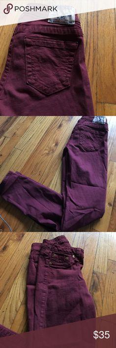True religion jeans True religion maroon jeans True Religion Jeans Skinny