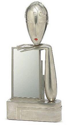 Art Deco Mirror                                                                                                                                                     Mais