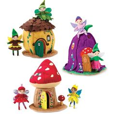 Woodland Fairy Home in Plush Toys got all of them for Iris too cute!!!!