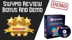 Swypio Review | Swypio Bonus | Swypio Software Demo Swipe Card, Lead Generation, Software, Make It Yourself