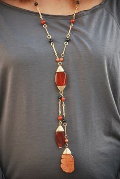 Love this necklace. Great for fall $19.00